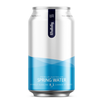 Wallaby Spring Water 24 X 375ml CAN - Wallaby-Water-350x350