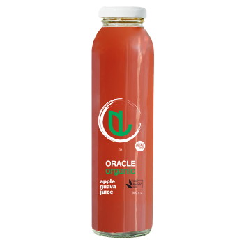 Oracle Organic Apple Guava 12 X 300ml Glass - Oracle-Apple-Guava-350x350
