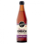 Remedy Kombucha Cherry Plum 12 X 330ml Glass - Remedy-Cherry-Plum-330ml-180x180