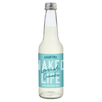 Naked Life Lemonade with Cucumber 12 X 330ml Glass - NL01-350x350