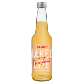 Naked Life Ginger & Pomegranate 12 X 330ml Glass - NL02-350x350