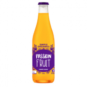 Simple Organics Passionfruit 12 X 330ml Glass - Simple-Passionfruit-180x180