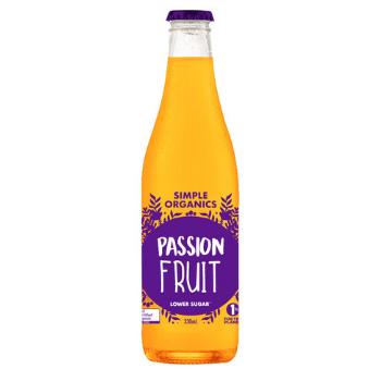 Simple Organics Passionfruit 12 X 330ml Glass - Simple-Passionfruit-350x350