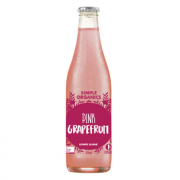 Simple Organics Pink Grapefruit 12 X 330ml Glass - Simple-Pink-grapefruit-180x180