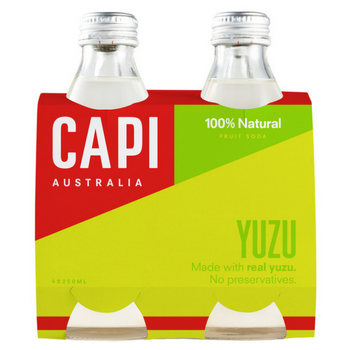 Capi Yuzu 6 X 4PK 250ml Glass - image-123-350x350
