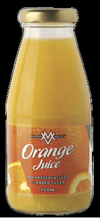 Murray Valley Orange Juice 12 X 250ml Glass - image-160-350x758