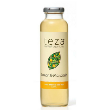 Teza Lemon & Mandarin 12 X 325ml Glass - image-53-350x350