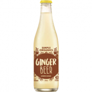 Simple Organic Ginger Beer 12 X 330ml Glass - image-2-180x180