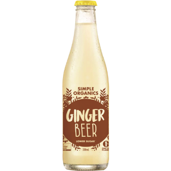 Simple Organic Ginger Beer 12 X 330ml Glass - image-2-350x350