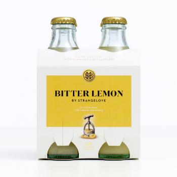 StrangeLove Bitter Lemon 6 X 4pk 180ml Glass - Strangelove-Bitter-Lemon-350x350