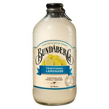 Bundaberg Traditional Lemonade 12 X 375ml Glass - image-157-350x350