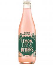 Simple Organic Lemon Lime Bitters 12 X 330ml Glass - image-55-180x221
