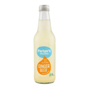 Parkers Organic No Sugar Ginger Beer 330ml 12Pk - Parkers-Organic-No-Sugar-Ginger-Beer