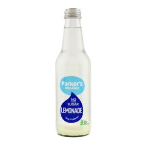 Parkers Organic No Sugar Lemonade 330ml 12Pk - Parkers-Organic-No-Sugar-Lemonade