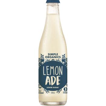 Simple Organic Lemonade 12 X 330ml Glass - image-13-350x350