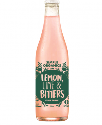 Simple Organic Lemon Lime Bitters 12 X 330ml Glass - image-19-350x429