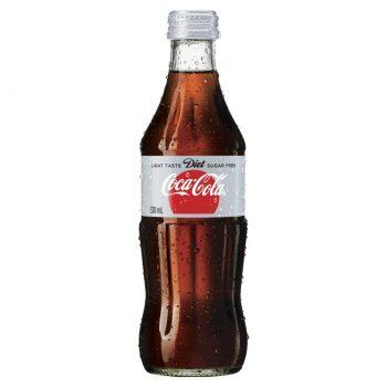 Diet Coke 24 X 330ml Glass - image-7-350x350