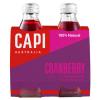 Capi Blood Orange Sparkling 6 X 4PK 250ml Glass - Capi-Cranberry-4-pack-CP74-100x100