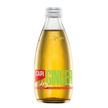 Capi Ginger Ale 24 X 250ml Glass - Capi-Dry-Ginger-2
