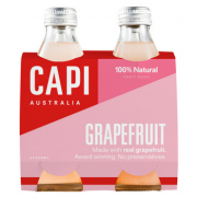 Capi Pink Grapefruit Sparkling 6 X 4PK 250ml Glass - Capi-Grapefruit-4-pack-CP75-2-180x180