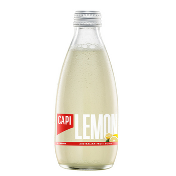 Capi Lemon Sparkling 24 X 250ml Glass - Capi-Lemon-2