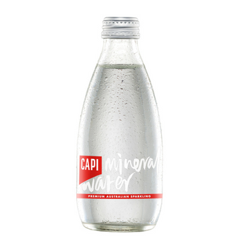 Capi Sparkling Water 24 X 250ml Glass - Capi-Mineral-