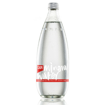 Capi Sparkling Water 12 X 750ml Glass - Capi-Mineral-Water-750-2