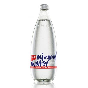 Capi Still Water 12 X 750ml Glass - Capi-Mineral-still-750