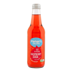 Parkers Organic No Sugar Raspberry Soda 330ml 12Pk - Parkers-Organic-No-Sugar-Raspberry-Soda