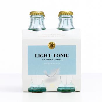 StrangeLove Light Tonic 6 X 4pk 180ml Glass - Strangelove-Light-Tonic