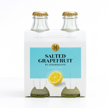 StrangeLove Salted Grapefruit 6 X 4pk 180ml Glass - Strangelove-Salted-Grapefruit
