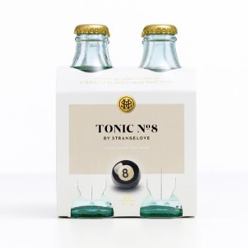 StrangeLove Tonic No 8. 6 X 4pk 180ml Glass - Strangelove-Tonic-No.8