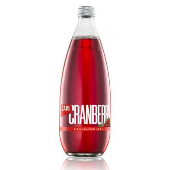 Capi Cranberry Sparkling 12 X 750ml Glass - Capi-Cranberry-750-1