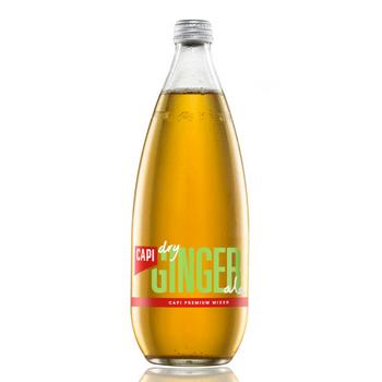 Capi Ginger Ale 12 X 750ml Glass - Capi-Dry-Ginger-750-1