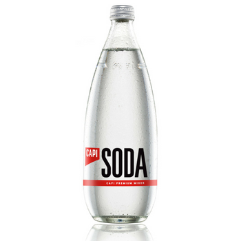 Capi Soda Water 12 X 750ml Glass - Capi-Soda-750-1