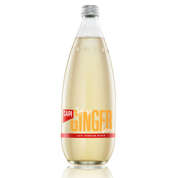 Capi Ginger Beer 12 X 750ml Glass - Capi-Spice-Ginger-750-1