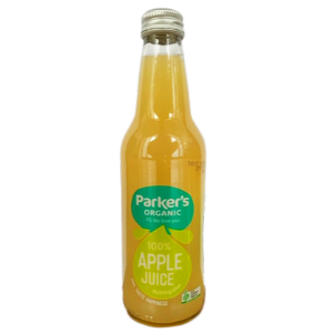 Parkers Organic Apple Juice 330ml 12Pk - Parkers-Apple-Juice-300x300-5