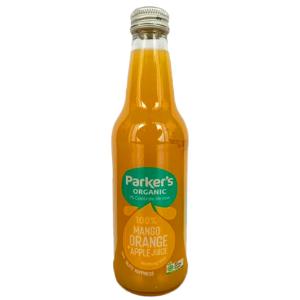 Parkers Organic Mango Juice 330ml 12Pk - Parkers-Mango-Juice-300x300-5
