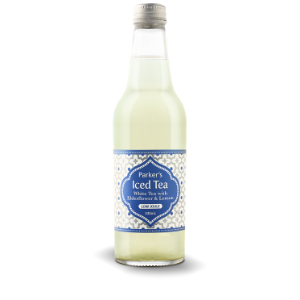 Parkers Organic Iced White Tea With Elderflower Lemon 330ml 12Pk - Parkers-Organic-Iced-White-Tea-with-Elderflower-3