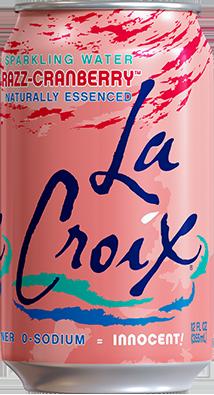 La Croix Sparkling Cran Raspberry 12 pack Cans - RAZZ-CRANBERRY