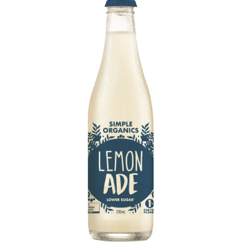 Simple Organic Lemonade 12 X 330ml Glass - Simple-Organic-Lemonade