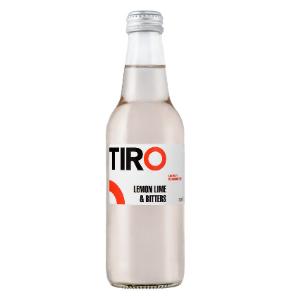 Tiro Lemon Lime Bitters 24 X 330ml Glass - Tiro-Lemon-Lime-Bitters-2020-Design