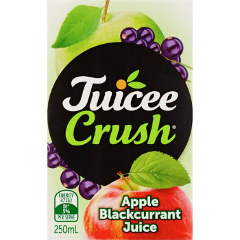 Juicee Crush Apple Blackcurrant 250ml - Juicee-Crush-Blackcurrant