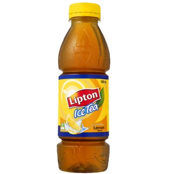 Lipton Ice Lemon 12 X 500ml PET - Lipton-Iced-Tea-Lemon