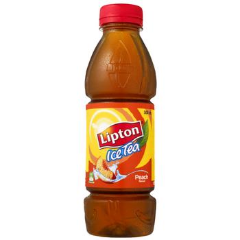 Lipton Ice Peach 12 X 500ml PET - Lipton-Iced-tea-peach-1