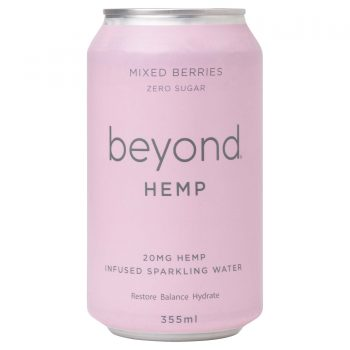 Beyond Hemp Mixed Berries 12 X 355ml Cans - Mixed-Berries-1-350x350