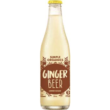 Simple Organic Ginger Beer 12 X 330ml Glass - Simple-Organic-GB