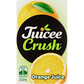 Juicee Crush Orange 250ml - Juicee-Crush-OJ