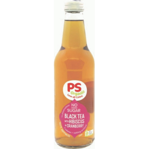 Parkers Organic Iced Black Tea With Hibiscus & Cranberry 330ml 12Pk - Parkers-Hibiscus-Tea-300x300-1
