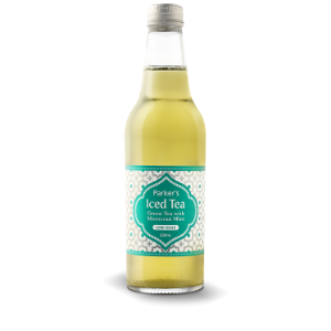 Parkers Organic Iced Green Tea With Moroccan Mint 330ml 12Pk - Parkers-Organic-Iced-Green-Tea-with-Moroccan-Mint